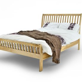 Oxford Solid Oak Double Bedframe