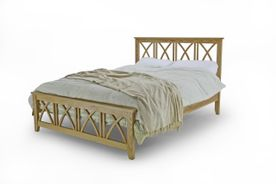 Norfork Solid Oak Double Bedframe